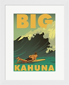 Big Kahuna By American Flat Framed Art