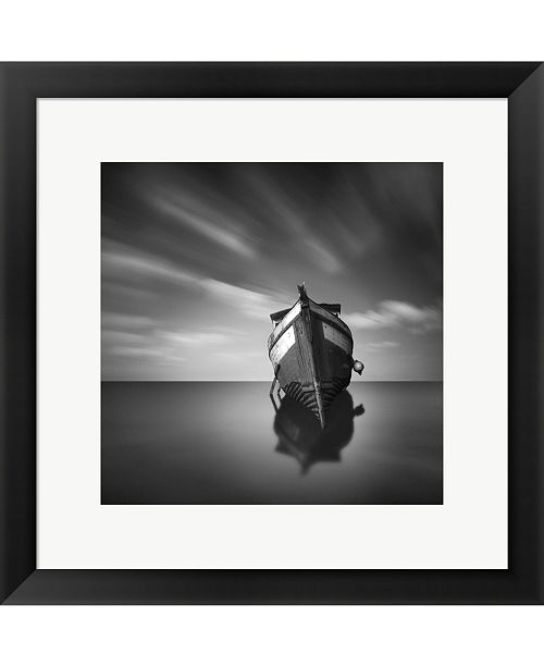Metaverse My Boat IV By Moises Levy Framed Art