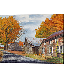 October Country Driv by Michael Davidoff Canvas Art