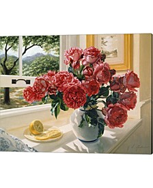 Hot Pink Roses By Robin Anderson Canvas Art