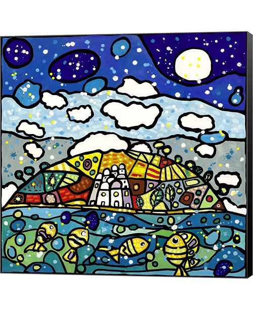 Metaverse Isola Dei Sogni By Wallas Canvas Art