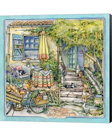 At Home In Cotignac by Kim Jacobs Canvas Art