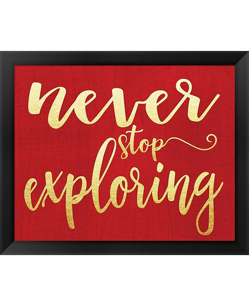 Metaverse Never Stop Exploring By Alli Rogosich Framed Art