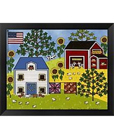 Country Meadows By Medana Gabbard Framed Art