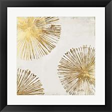 Gold Star Ii By Pi Galerie Framed Art
