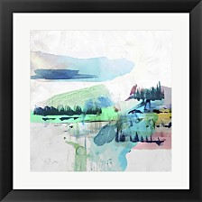 Palette Landcape Ii By Pi Galerie Framed Art