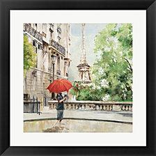 Paris Walk by Allison Pearce Framed Art