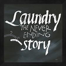 Laundry Room Ii By Chris Paschke Framed Art