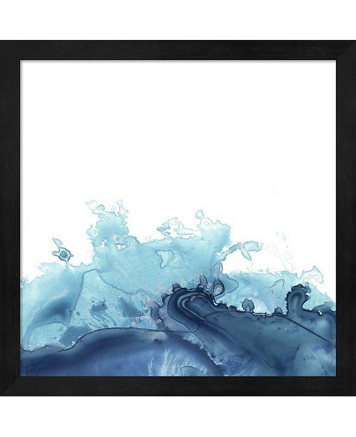 Metaverse Splash Wave Iii By June Erica Vess Framed Art