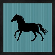 Gypsy Horse Collection Surface Pattern V2 12 By Lightboxjournal Framed Art