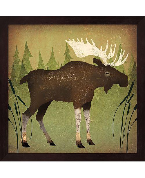 Metaverse Take A Hike Moose No Words By Ryan Fowler Framed Art