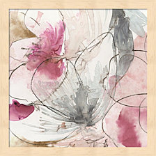 Painted Poppies V by Katie Pertiet Framed Art