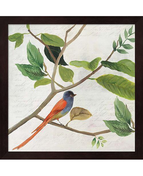 Metaverse Singing Bird Ii By Asia Jensen Framed Art