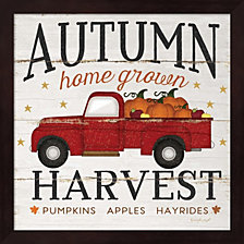 Autumn Harvest By Jennifer Pugh Framed Art