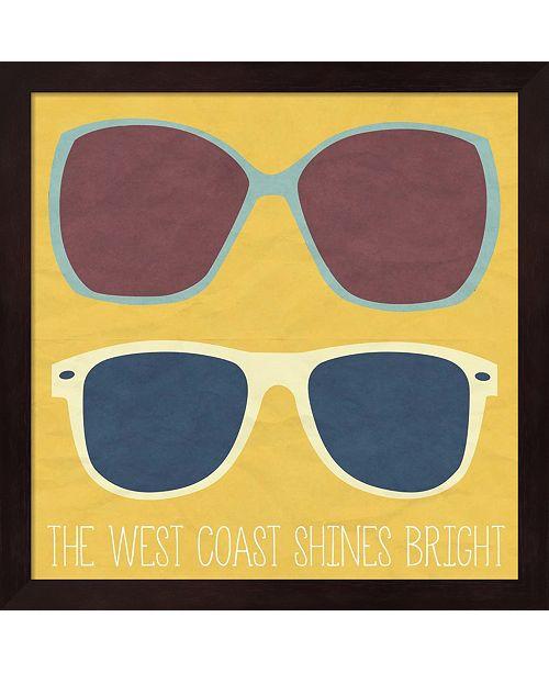 Metaverse West Coast Ii By Sd Graphics Studio Framed Art