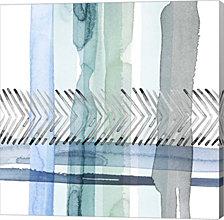 Cross Stitch I By Grace Popp Canvas Art
