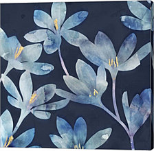 Mystique Blue I by Edward Selkirk Canvas Art