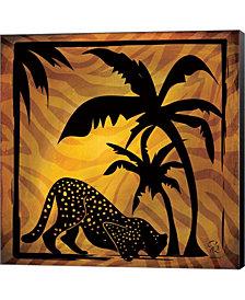 Safari Silhouette I By Gena Rivas-Velazquez Canvas Art