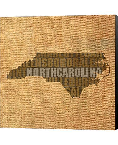 Metaverse North Carolina State By David Bowman Canvas Art
