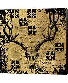 Bg Deer Skull By Art Licensing Studio Canvas Art