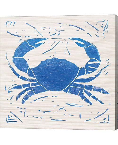 Metaverse Sea Creature Crab Bl By Courtney Prahl Canvas Art
