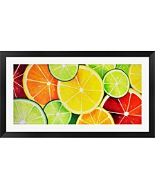 Fruit Slices Framed Art