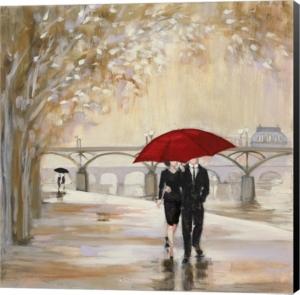 Romantic Paris Iii Red...