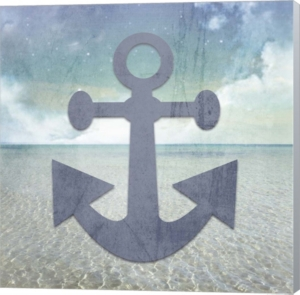 Beach Signs Anchor By...