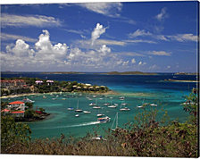 St. John's Harbor by J.D. McFarlan Canvas Art