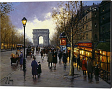 Paris Charm By Anthony Casay Canvas Art