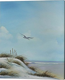 Beach 1 By Geno Peoples Canvas Art