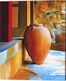 Rustic Vase By Ata Alishahi Canvas Art