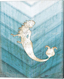 Coastal Mermaid IV by Jennifer Pugh Canvas Art