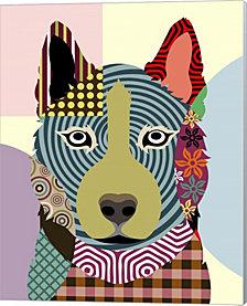 Siberian Husky By Lanre Adefioye Canvas Art