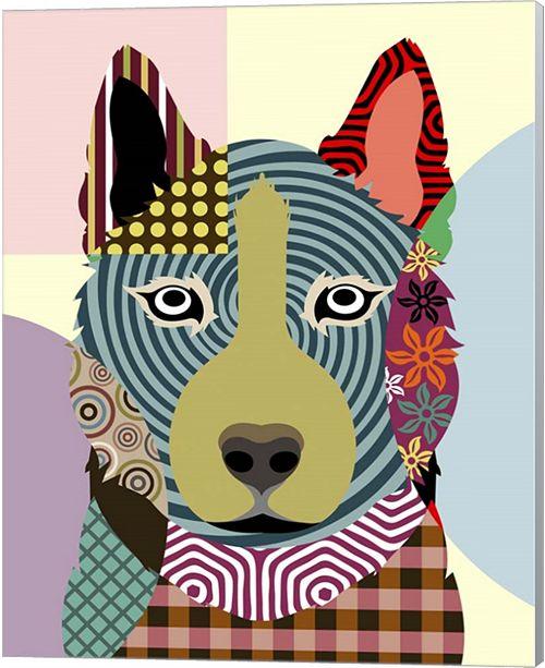 Metaverse Siberian Husky By Lanre Adefioye Canvas Art
