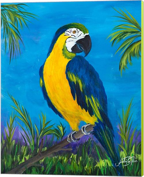 Metaverse Island Birds Ii By Julie Derice Canvas Art