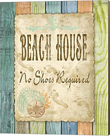 Beach House By Jean Plout Canvas Art