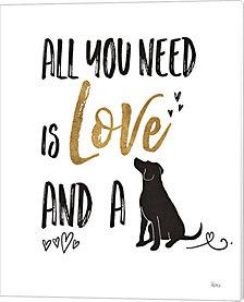 Pet Love II by Veronique Charron Canvas Art