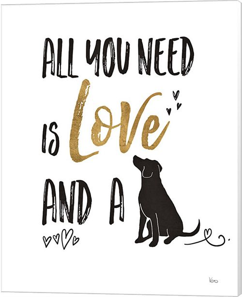 Metaverse Pet Love Ii By Veronique Charron Canvas Art
