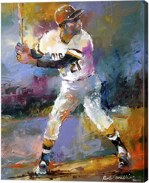 Metaverse Roberto Clemente By Richard Wallich Canvas Art