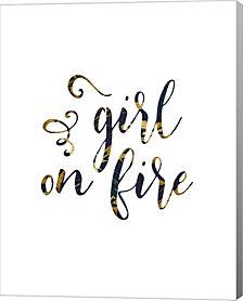 Girl on Fire by Tara Moss Canvas Art