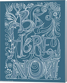 Be Here Now by Green Girl Canvas Canvas Art
