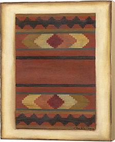 Rio Grande Weaving- H Ii By Chariklia Zarris Canvas Art