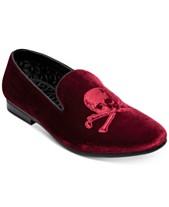 d5b75c79f22a Steve Madden Men s Cranium Velvet Smoking Slippers