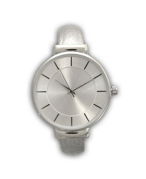 Olivia Pratt Metallic Bangle Watch