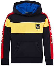 Polo Ralph Lauren Big Boys Downhill Skier Colorblocked Tech Hoodie