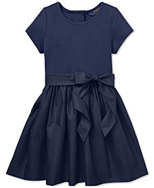 Polo Ralph Lauren Little Girls Fit & Flare Dress