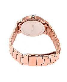 Bertha Quartz Madeline Collection Rose Gold Stainless Steel Watch 36Mm