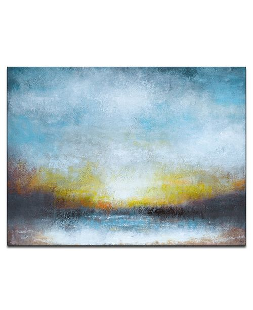 Ready2HangArt 'Night' Abstract Canvas Wall Art, 20x30""