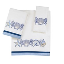 Avanti Nassau Embroidered Fingertip Towel